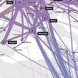Global Internet Map Map 2018