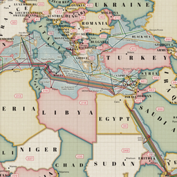 Submarine Cable Map 2013
