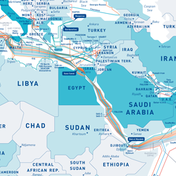 GeoGarage blog: Submarine cable map 2016