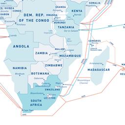 GeoGarage blog: Submarine cable map 2016